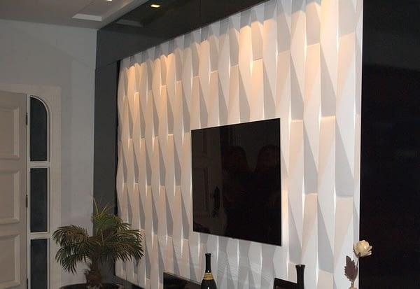 Gesso 3D - Sala de Estar