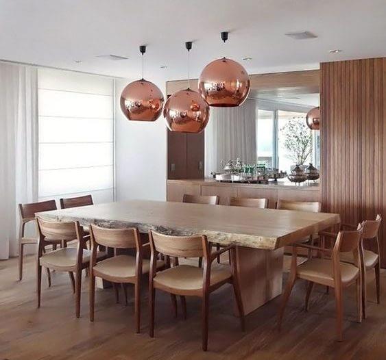 salas de jantar decoração